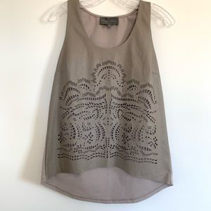 Anthropologie Sunday in Brooklyn Tank Small